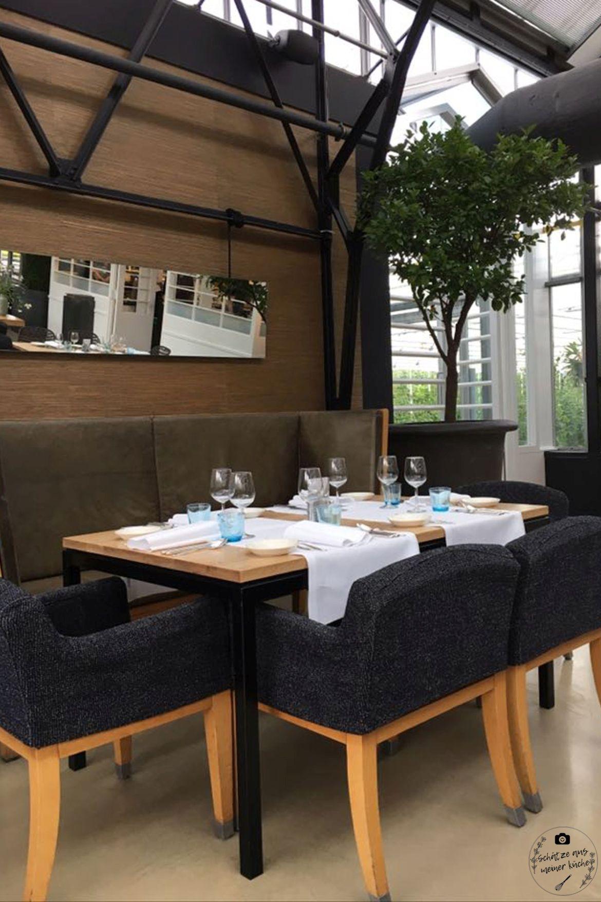 De Kas Tisch Gewächshaus Restaurant Amsterdam