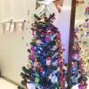 我が家でもクリスマスツリーが点灯!オリジナルジグソーパズルの季節です!