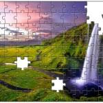 幻想的なジグソーパズルを検討中