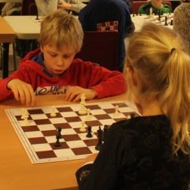 Thomas speelt zijn eerste toernooi