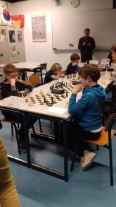 Mooie schaakstrijd