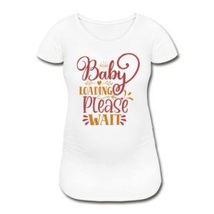 Umstandsmode T Shirt Mit Motiv Fussball Schwangerschafts T Shirt