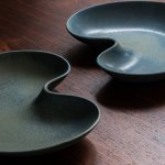 Gunnar Nylund large ceramic trays by Rörstrand at Studio Schalling
