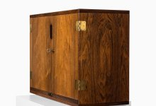 Svend Langkilde bar cabinet in rosewood at Studio Schalling