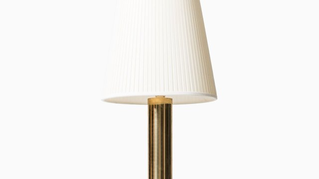 Bergboms table lamps in brass at Studio Schalling