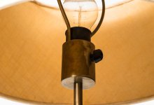 Yasha Hiefetz table lamp model B-31 by Bergbom at Studio Schalling