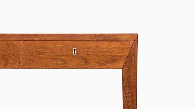 Severin Hansen desk in teak by Haslev møbelsnedkeri at Studio Schalling