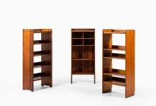 Martin Nyrop bookcases in oregon pine at Studio Schalling