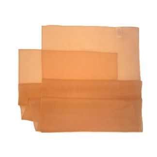 Chiffon Schal in apricot