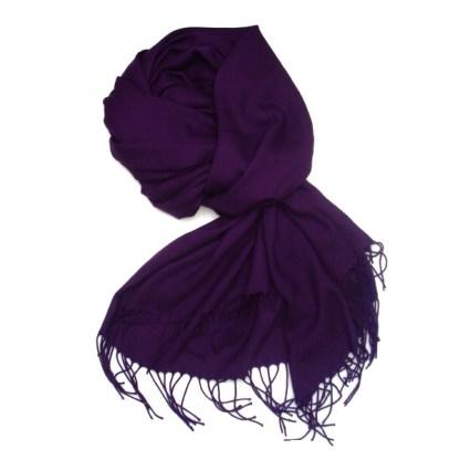Pashmina Schal in violett