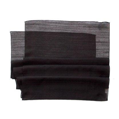 Polyester Schal in braun