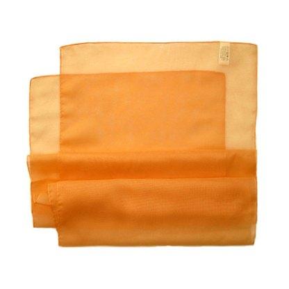 Chiffon Schal in hell orange