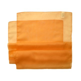Chiffon Schal in hell orange