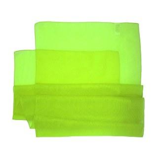 Chiffonschal in leuchtendem grün