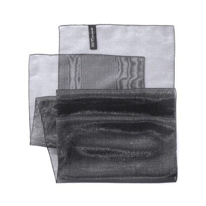 Nylon-Polyester Schal von MAYBELLINE New-York in anthrazit