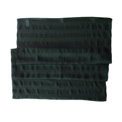 Nylon-Polyester Schal in grün