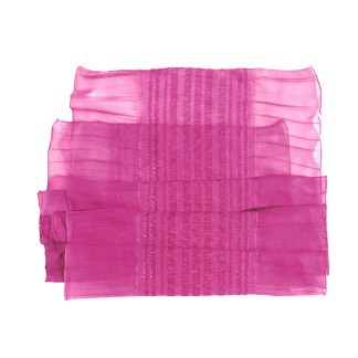Polyester Schal in pink