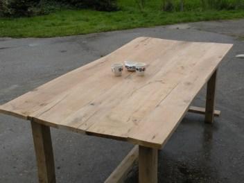 eiken tafel plank 2
