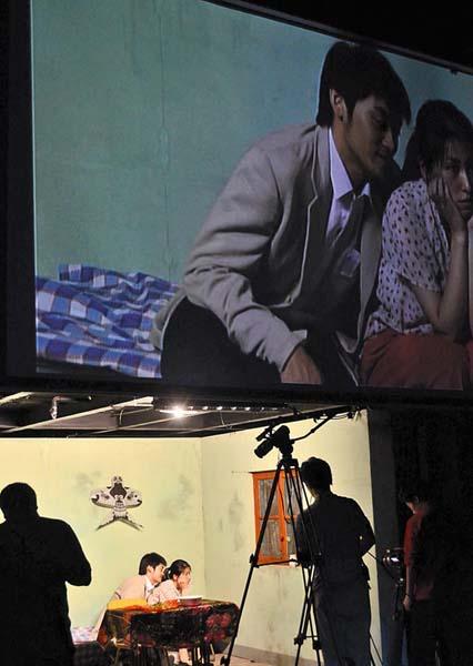 האדון והמשרתת (צילום באדיבות וונג צ'ונג)