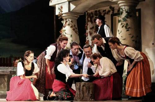 נבואת הצועניה (צילום: תיאטרון האופרטה של בודפשט)