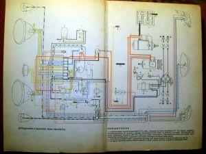 Scheme electrice (electric diagram) pentru Volkswagen Beetle (Broscuta)