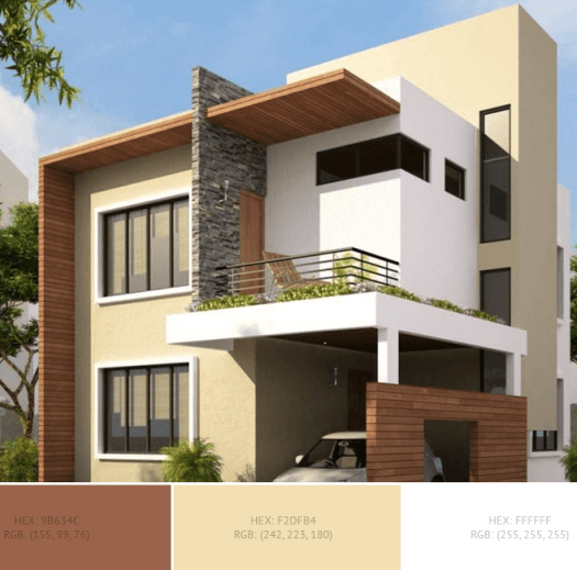 Modern House Exterior Color Combinations
