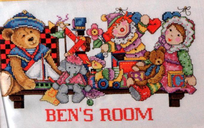 quadro a punto croce per bambini- cross stitch pattern free