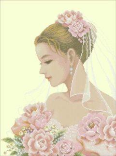 sposa con le rose