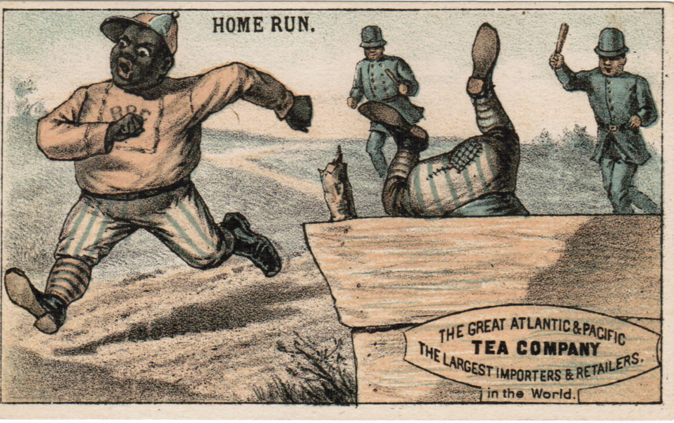 Set H 804-5A baseball advertising trade card
