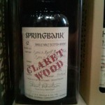 Springbank Claret Wood (aged 12 years)