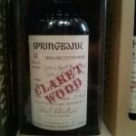 Springbank Claret Wood (aged 12 years)
