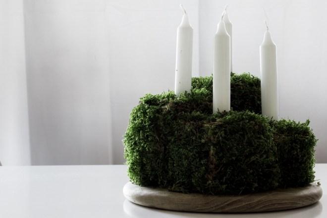 schereleimpapier DIY und Upcycling Blog aus Berlin - kreative Tutorials für Geschenke, Möbel und Deko zum Basteln - Adventskranz selber machen