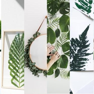 DIY Ideen für Pflanzen Deko