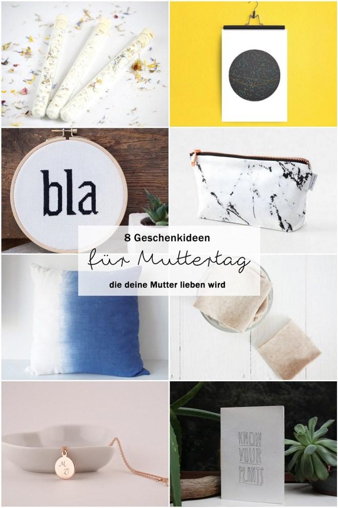 Etsy Fundstücke für Geschenke zum Muttertag | schereleimpapier