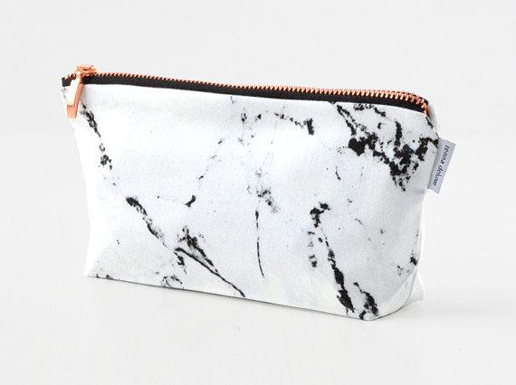 schereleimpapier Geschenke für Muttertag Marmor-Tasche