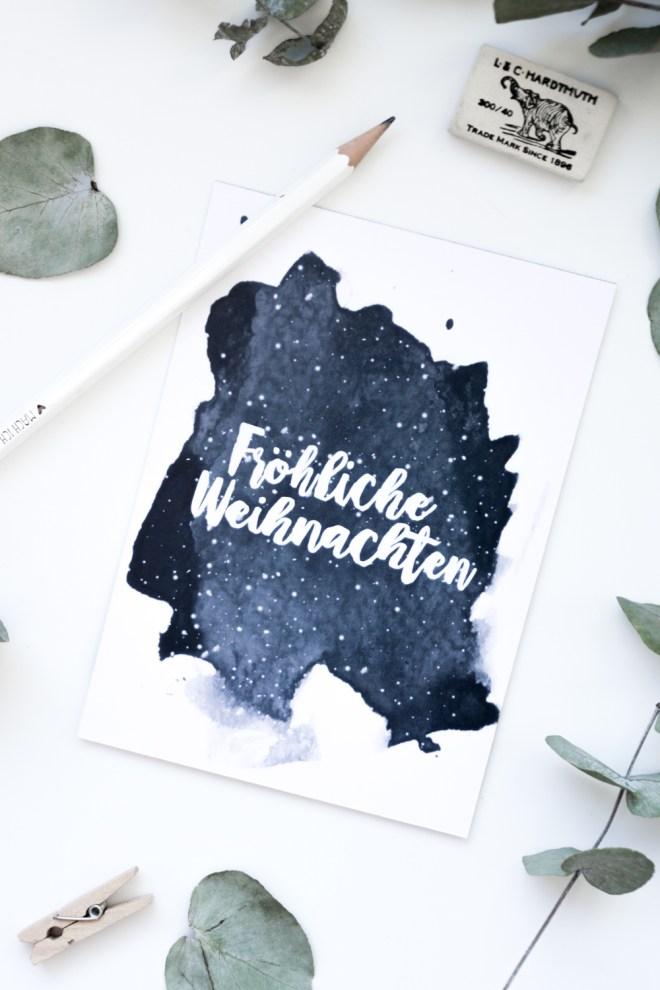 schereleimpapier DIY und Upcycling Blog aus Berlin - kreative Tutorials für Geschenke, Möbel und Deko zum Basteln - Weihnachtskarten zum Ausdrucken