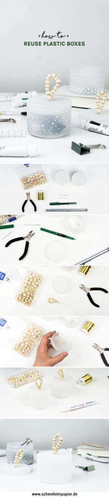 Einfache Upcycling Idee  - schereleimpapier DIY und Upcycling Blog aus Berlin - kreative Tutorials für Geschenke, Möbel und Deko zum Basteln