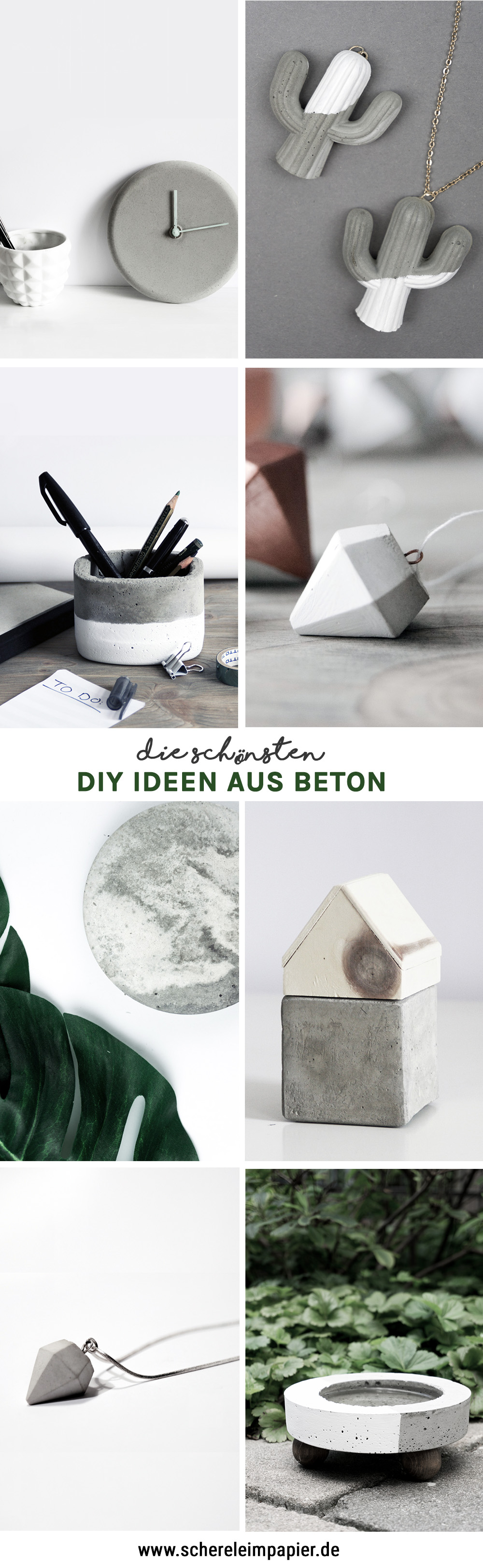 diy beton schereleimpapier diy blog f r wohnen geschenke und mehr. Black Bedroom Furniture Sets. Home Design Ideas