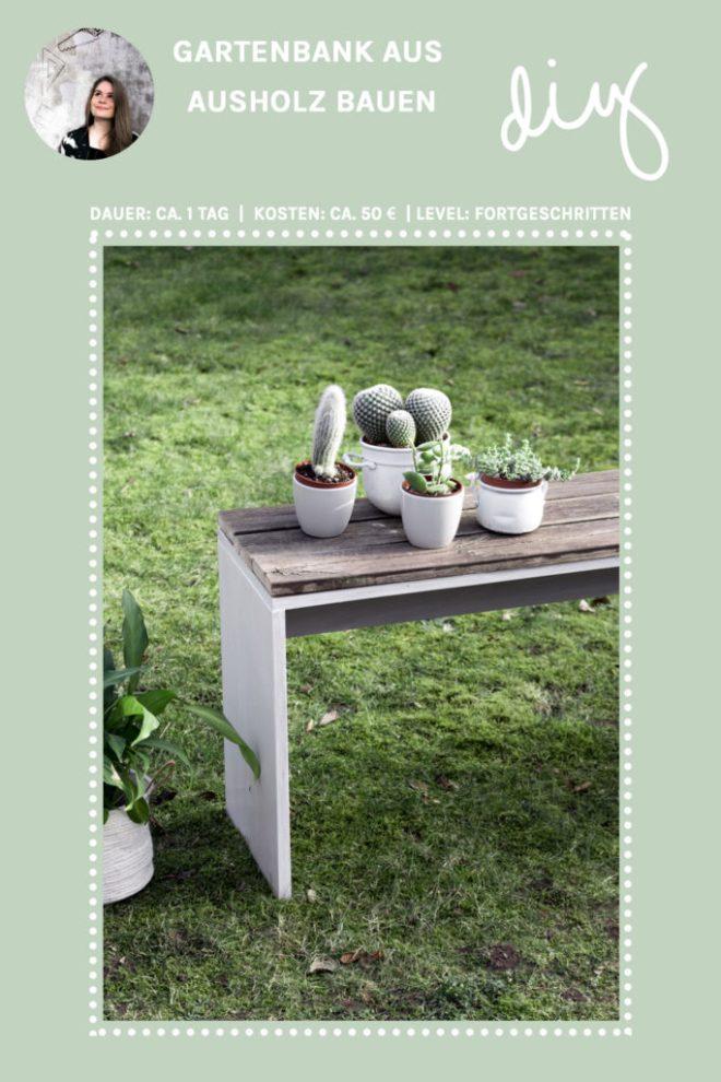 Gartenbank selber bauen - schereleimpapier DIY und Upcycling Blog aus Berlin - kreative Tutorials für Geschenke, Möbel und Deko zum Basteln
