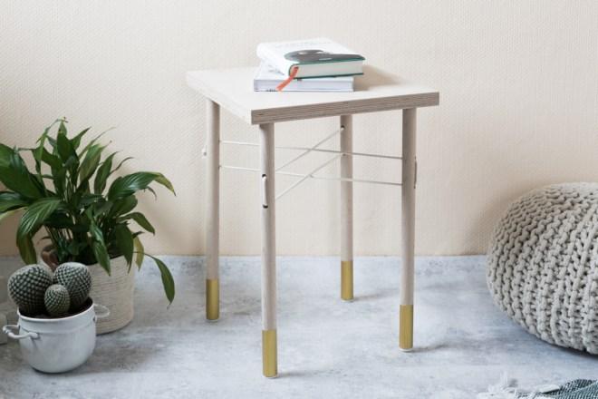 DIY Tisch selber bauen - schereleimpapier DIY Blog Berlin London -