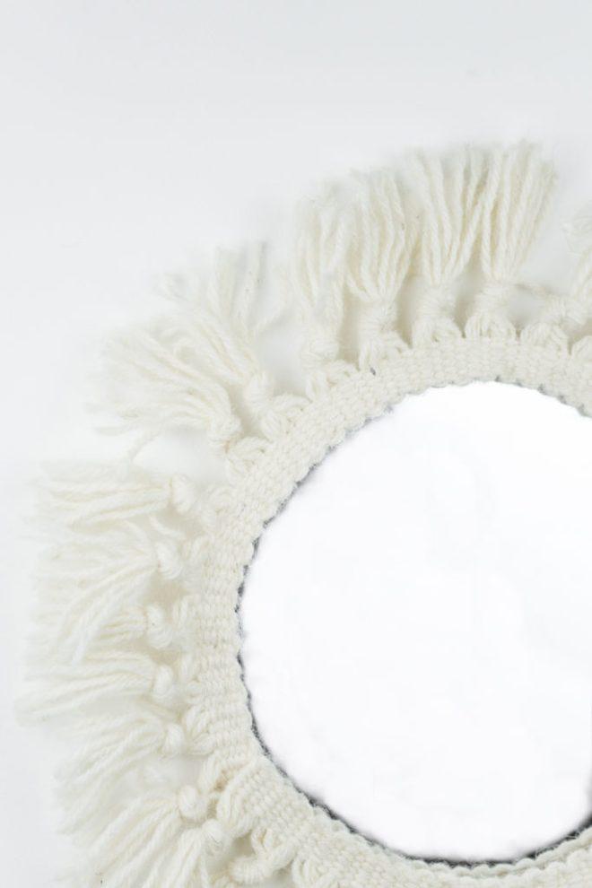 DIY Boho Spiegel selber machen - -schereleimpapier DIY und Upcycling Blog aus Berlin - kreative Tutorials für DIY Geschenke, DIY Möbel und DIY Deko zum Basteln
