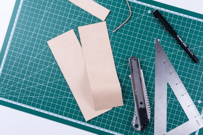 DIY Basteln mit Holz und Leder DIY Spiegel selber machen - kreative Tutorials für DIY Geschenke, DIY Möbel und DIY Deko zum Basteln