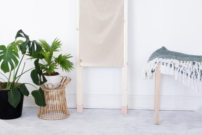 Basteln Mit Holz Leder Spiegel Zum Anlehnen Easy Selber Bauen
