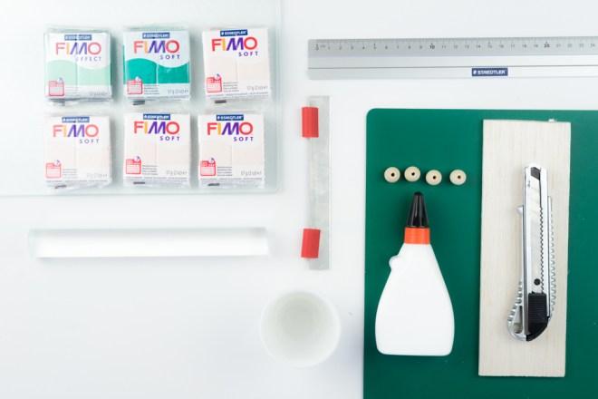DIY FIMO Mini Plant Stand kreative Tutorials für DIY Geschenke, DIY Möbel und DIY Deko zum Basteln