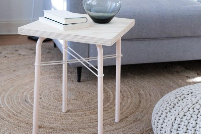 Easy IKEA Hack mit Hocker Marius: schereleimpapier DIY und Upcycling Blog aus Berlin - kreative Tutorials für DIY Geschenke, DIY Möbel und DIY Deko zum Basteln