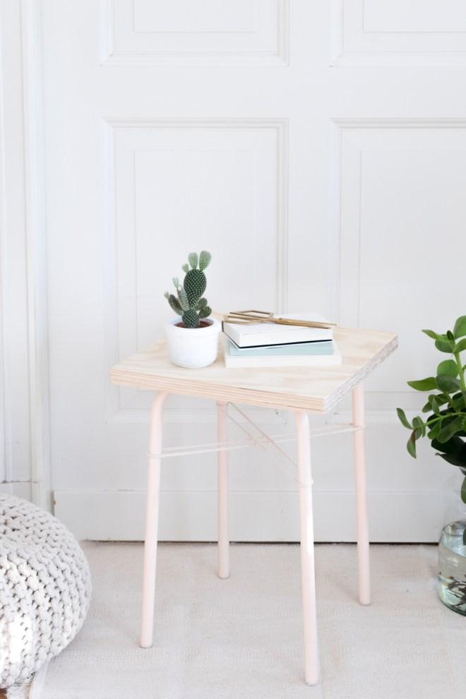 Easy Ikea Hack Mit Hocker Marius Nude Plywood