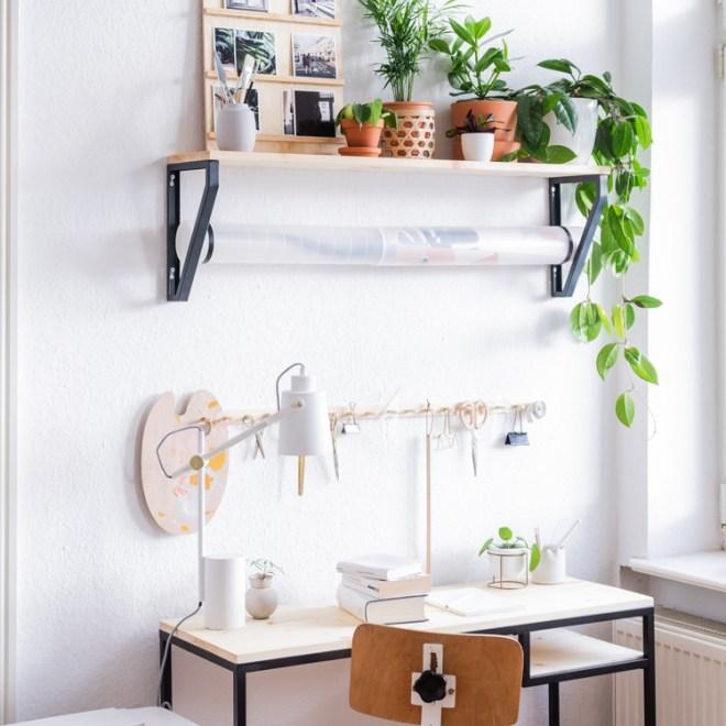 Arbeitszimmer einrichten IKEA Hacks schereleimpapier DIY und Upcycling Blog aus Berlin - kreative Tutorials für DIY Geschenke, DIY Möbel und DIY Deko zum Basteln