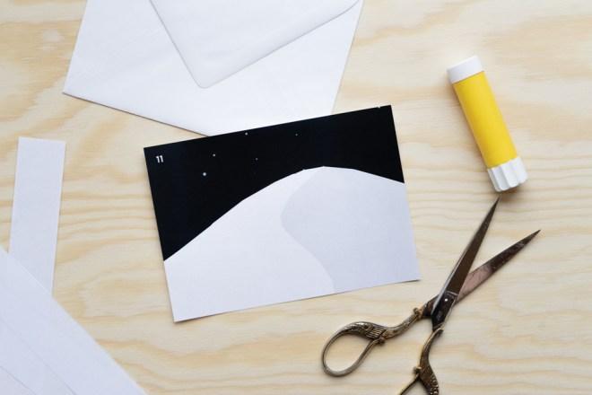 Adventskalender schereleimpapier kreative Tutorials für DIY Geschenke, DIY Möbel und DIY Deko zum Basteln