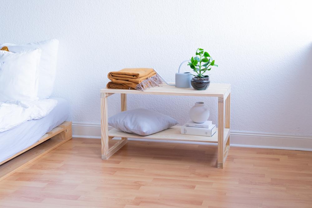 DIY Bank selber bauen schereleimpapier kreative Tutorials für DIY Geschenke, DIY Möbel und DIY Deko zum Basteln