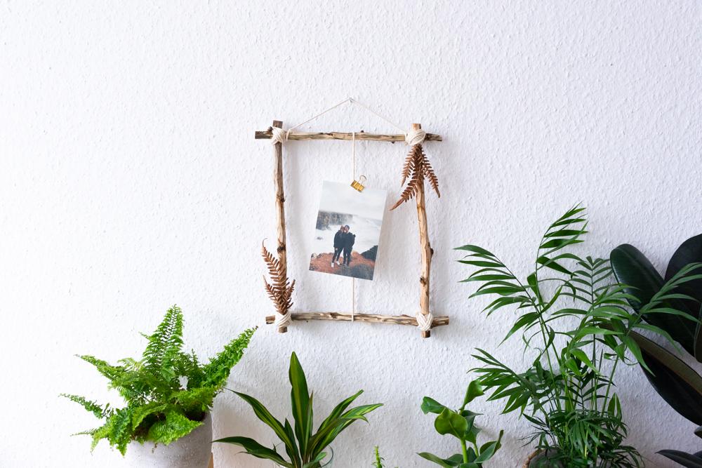 Basteln mit Naturmaterialien schereleimpapier kreative Tutorials für DIY Geschenke, DIY Möbel und DIY Deko zum Basteln